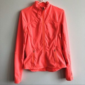 Neon Orange Lululemon Jacket